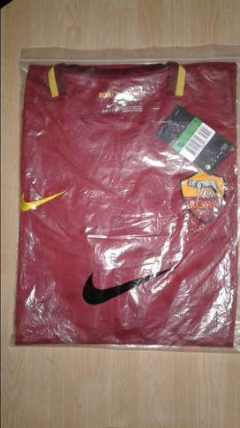 Camiseta Roma Nike IMPORTADA Italia Titular Temporada 2018 Adultos