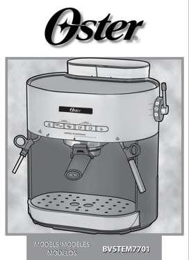 Cafetera Oster para repuestos