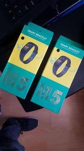 M5 Smart Band Ritmo Cardíaco Altavoz Para Música Y Llamadas Deportes