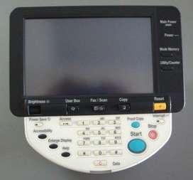 Panel de control Konica Minolta Bizhub C451 C550 C650