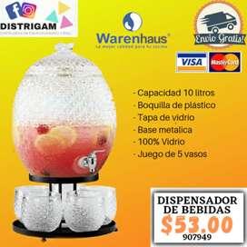 DISPENSADOR DE BEBIDAS MARCA WARENHAUS DE 10 LITROS