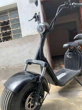 Chopper Scooter electrico