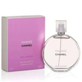 Perfume Chance de Chanel Eau Tendre - 100ML EDT EN CAJA