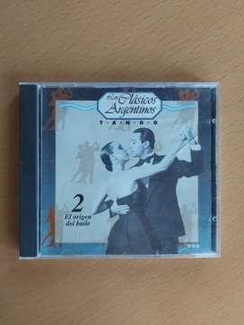 Los clásicos argentinos tango volumen 2 el origen del baile