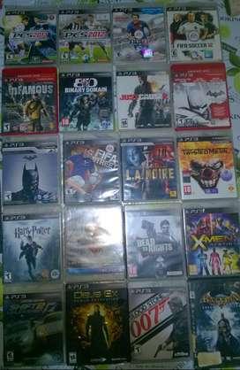 Lote de juegos PS3 - 22 Videojuegos Playstation 3-Precios Negociables