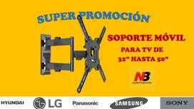 """SOPORTE MOVIL PARA TV DE 32"""" HASTA 55"""""""