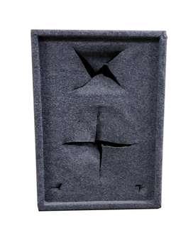Bafle Monitor Vacío Graves 12 Pulgadas Aglom Alfombr X Par Oferta !!!