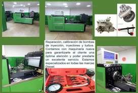 Reparación de bombas de inyección, inyectores y turbos DIESEL