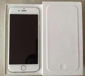 Apple iPhone 6 silver 128GB liberado!