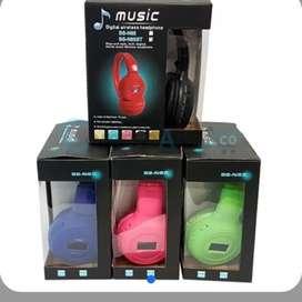 AUDÍFONOS BLUETOOTH N65S DIGITAL MP3 MICROSDNRADIO MP3