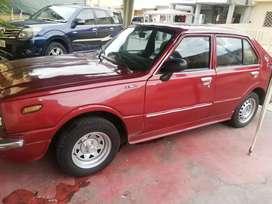 Vendo Toyota Corolla año 75, estado 9/10, probado y funcionando