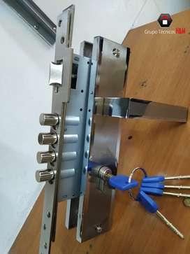 Cerradura de Seguridad - Cerrajería - Chapa de Alta Seguridad
