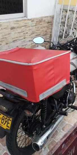 Se hacen todo tipo de forros para maletas de moto.