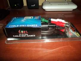 Cable video Componente ps2 - play station 2 nuevo