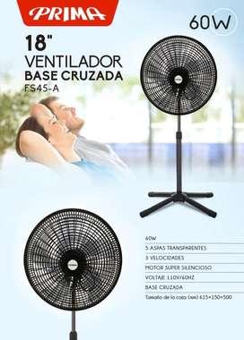 Ventilador Primo 3vel Plastico
