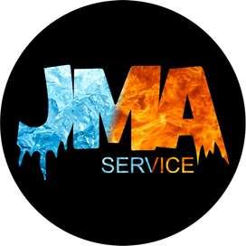 mantenimiento edilicio  y refrigeración casas, consorcios, empresas