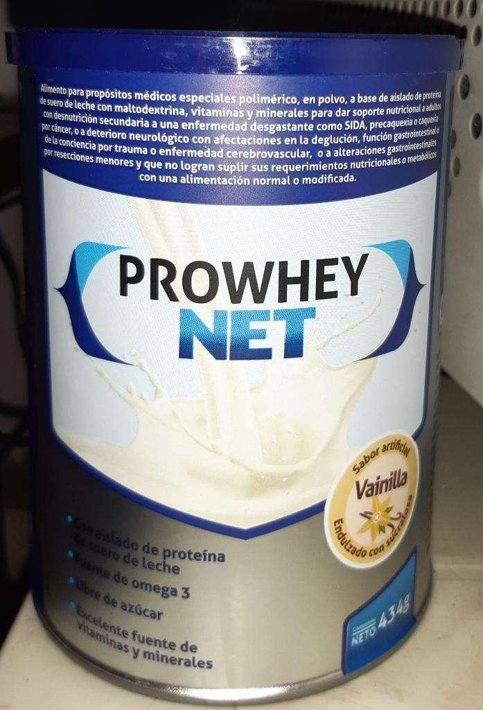 Prowhey Net 434g Sabor a Vainilla 0
