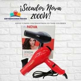 Secador Cabello Nova Super Liviano 1800w