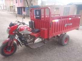 Vendo moto furgon