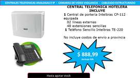 CENTRAL TELEFONICA HOTELERA INTELBRAS