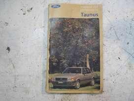 Manual usuario Ford Taunus