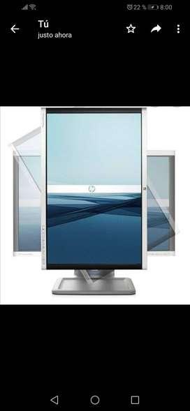 Monitor LCD de pantalla ancha HP Compaq LA2205wg de 22 pulgadas