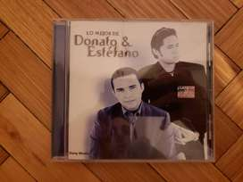 Cd Lo Mejor De Donato & Estefano Sony Music