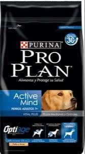 Pro Plan Active Mind 15 Kg Razas Mediana Y Grande