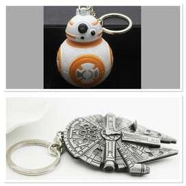 llavero Star Wars Guerra De Las Galaxias Cosplay Coleccion