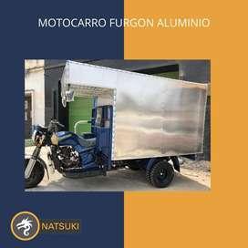 Motocarro Natsuki Furgon Aluminio 2021
