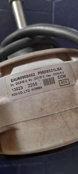 Motor ventilador de condensadora LG inverter