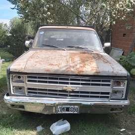 Vendo  Chevrolet Silverado modelo 87 gnc