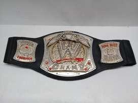 CINTURON TITULOS DE LA WWE WRESTLING CHAMPIONSHIP