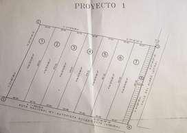 4ha sobre la Ruta 7 ideal emprendimiento inmobiliario como los que están alrededor.