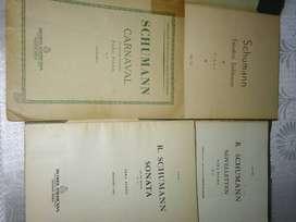 PARTITURAS: R. SCHUMANN (P/ PIANO)