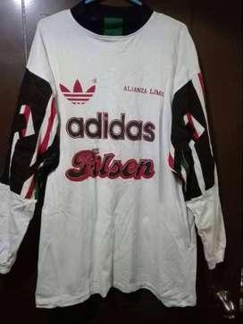 Camiseta Polo entrenamiento Adidas Alianza lima