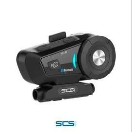 Intercomunicador Bluetooth Casco Moto SCS S9 Motociclista Cascoloco Distriramirez