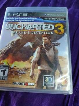 Juego Ps3 Uncharted 3 (usado)
