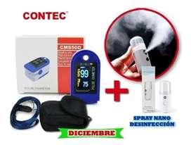 Oximetro Contec Kit Completo