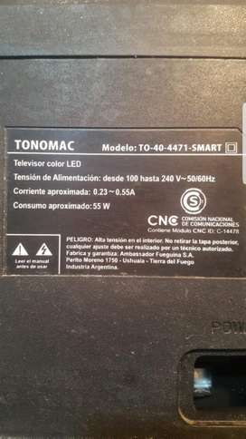 Vendo Placa Main Led Tonomac To404471