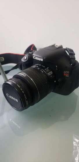 Camara Canon Eos Rebel T3i