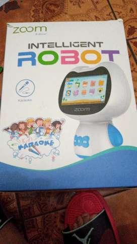 Tablet intelligent robot karaoke para niños