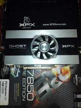Placa de Video AMD 7850