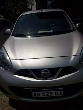 Nissan march pure drive 2017 impecable