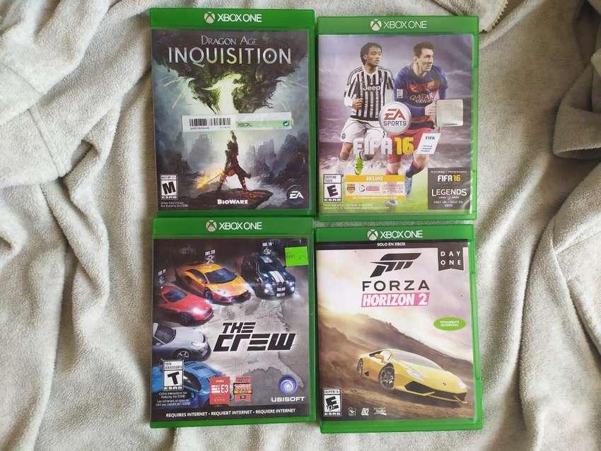 Vendo Pack de Juegos Xbox One 0