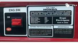 Grupo electrógeno Honda GX390 7,5 kw