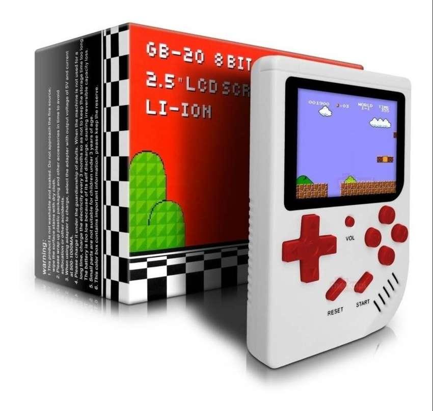 Consola Videjuegos Juegos Retro Portátil Game 8 Bits Boy