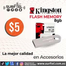 FLASH MEMORY KINGSTON DE 8 GB