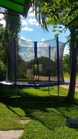 Alquilo cama elastica pelotero metegol plaza blanda