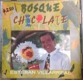 Cd Bosque Chocolate Esteban Villarreal